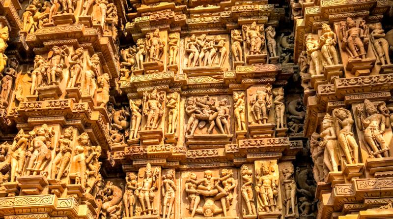 Erotic Temple Sculptures of Khajuraho